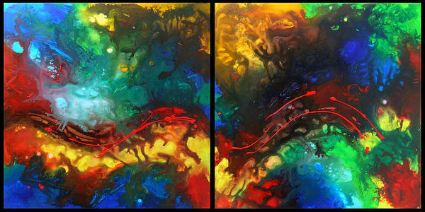 Painting - Do You Like Mahler by Sally Trace