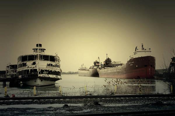 Photograph - Docked Boats by Scott Hovind