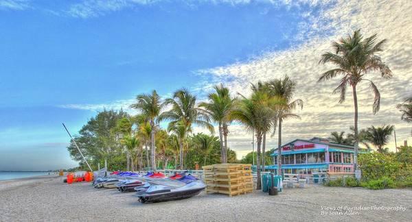 Photograph - Docs Beach House by Sean Allen