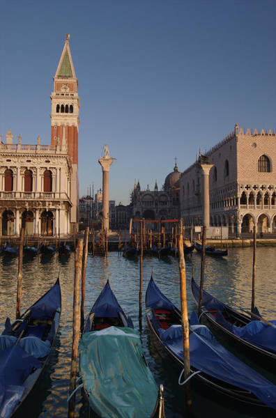 Wall Art - Photograph - Doges Palace And San Marcos Bell Tower by Jim Richardson