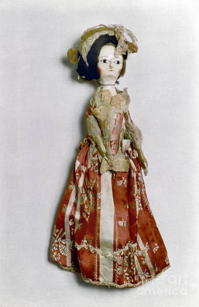 Photograph - Doll, C1770 by Granger