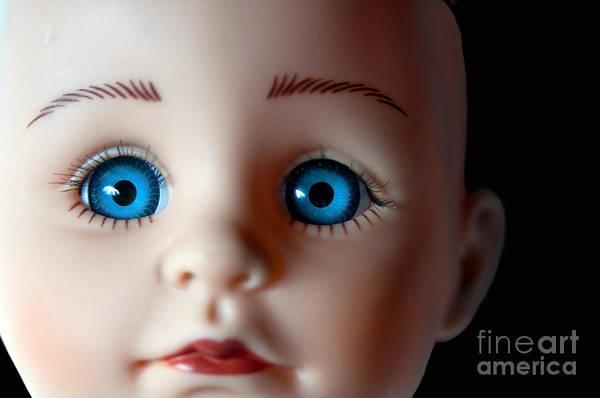 Wall Art - Photograph - Doll Eyes by Dan Holm