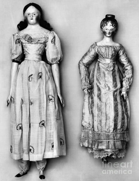 Photograph - Dolls, 1790s by Granger