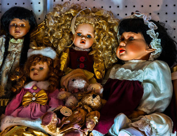 Photograph - Dolls by Christopher Holmes