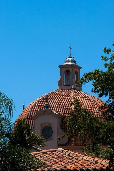 Photograph - Dome At Church Of The Little Flower by Ed Gleichman