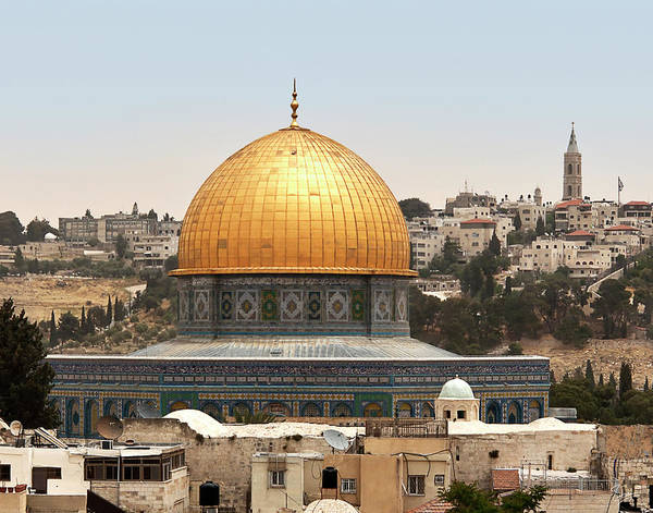 Photograph - Dome Of The Rock by Endre Balogh
