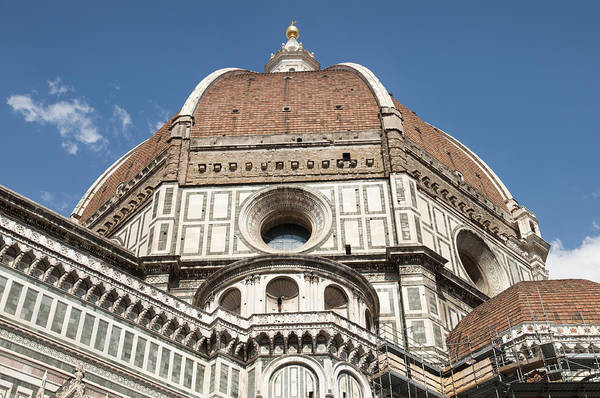 Photograph - Dome Santa Maria Del Fiore In Florence Italy by Matthias Hauser