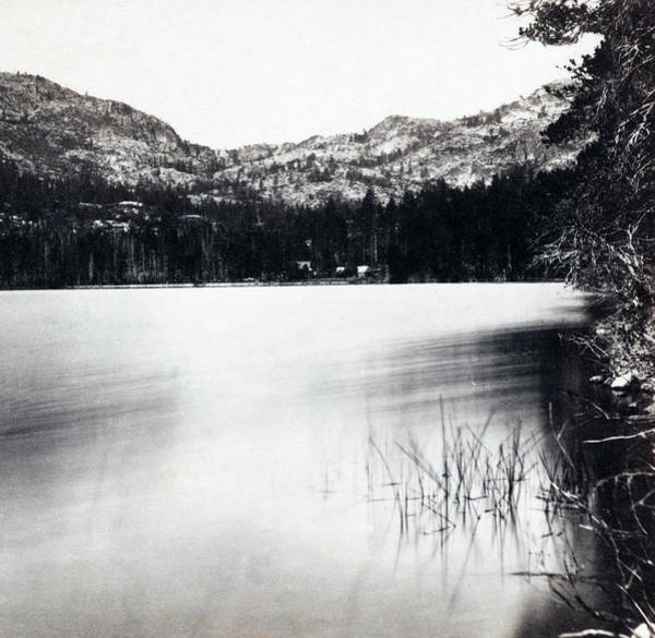 Donner Photograph - Donner Lake And Pass - California - C 1865 by International  Images