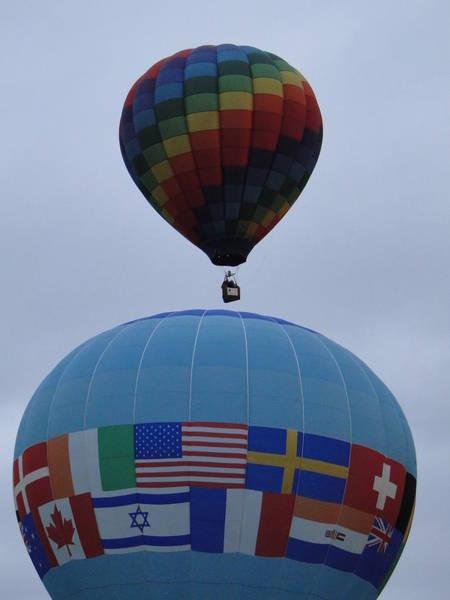 Balloon Festival Digital Art - Don't Land On Me by Dominick Carlotti
