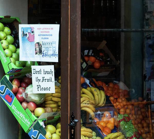 Photograph - Don't Touch The Fruit by Lorraine Devon Wilke