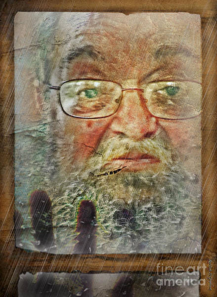 Digital Art - Don't You See Me?  I'm Here. .  by Rhonda Strickland