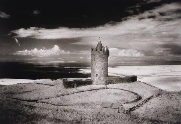 Dim Photograph - Doonagore Tower by Simon Marsden