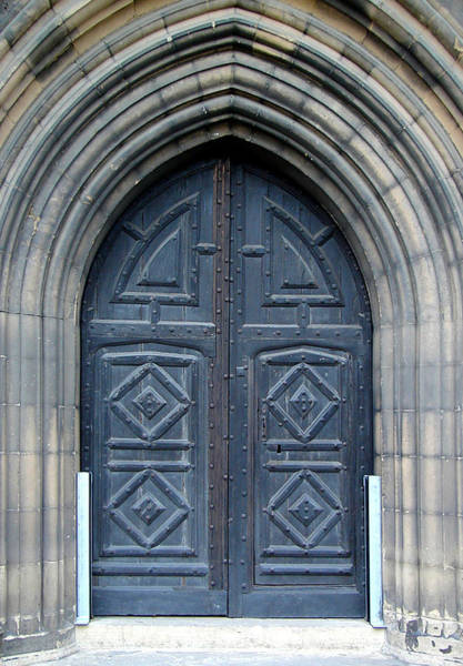 Photograph - Door And Arches by Roberto Alamino