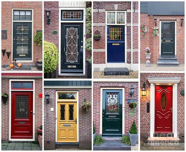 Photograph - Door Background by Ariadna De Raadt