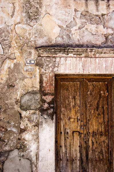 Mexico Photograph - Door Detail Mexico by Carol Leigh