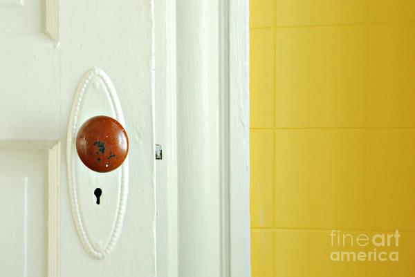 Doorknob Photograph - Door by HD Connelly