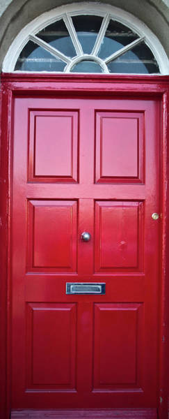 Mail Slot Photograph - Door In Ireland 5 by Douglas Barnett