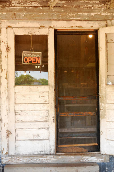 Wall Art - Photograph - Door To A Country Store by Connie Fox