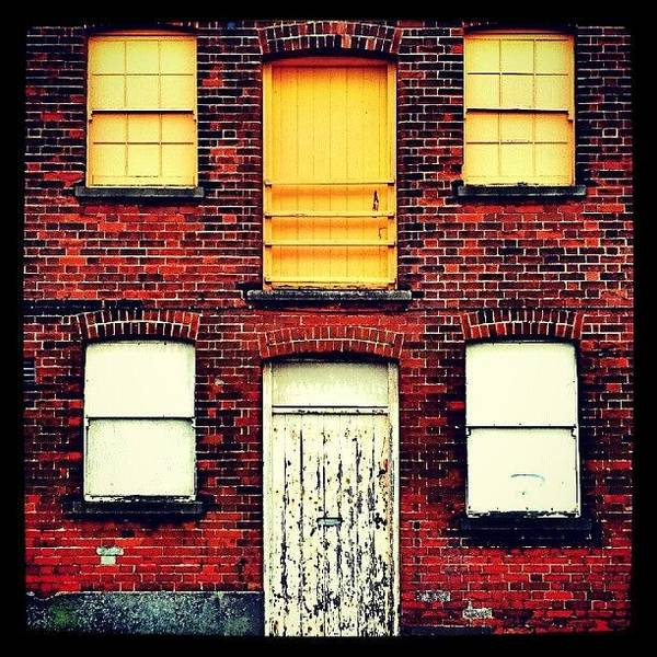 Norfolk Photograph - Doors And Windows #wall #bricks #door by Invisible Man