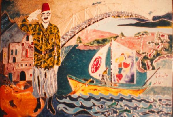 Painting - Doreid Au Canada by Ray Khalife