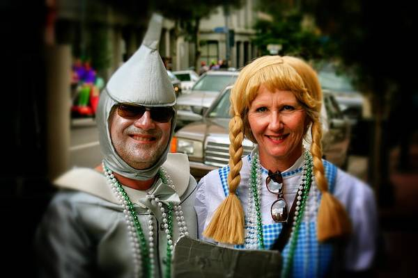 Photograph - Dorothy And The Tin Man by Jim Albritton