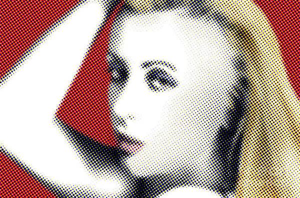 Blonde Photograph - Dot Blonde by Dan Holm