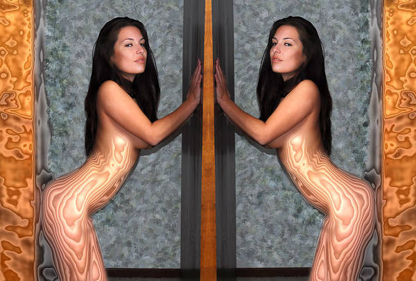 Photograph - Double Nudes by Harry Spitz