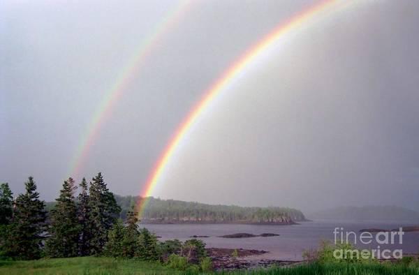 Photograph - Double Rainbow by Alana Ranney