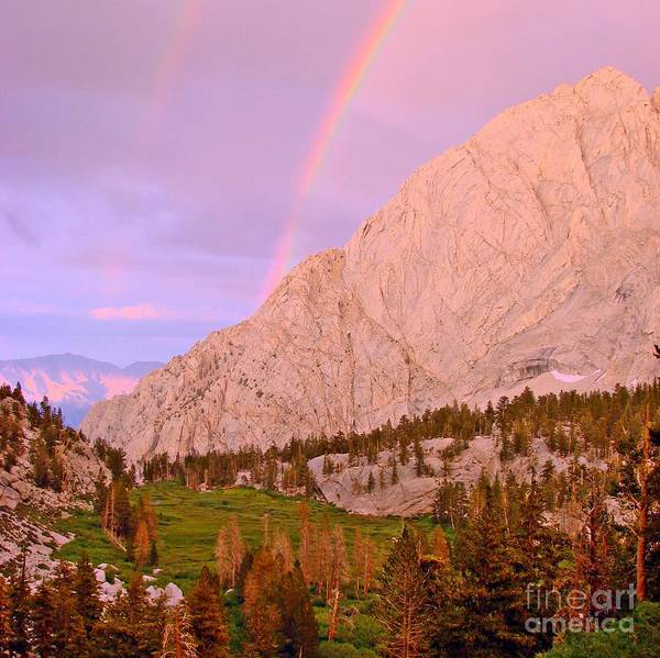 Inyo Mountains Photograph - Double Rainbow by Scott McGuire