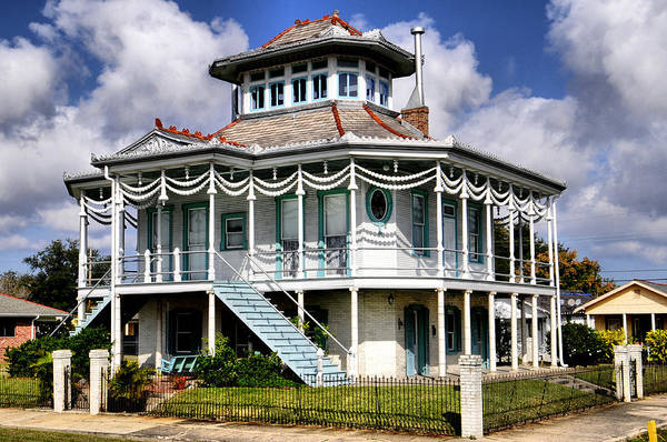 Lower Ninth Ward Photograph - Doullut Steamboat House by Ellis C Baldwin