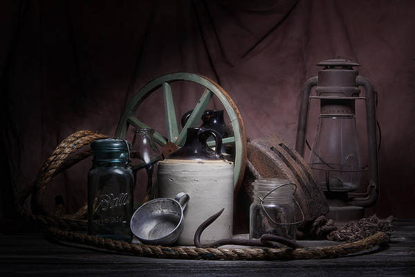 Wall Art - Photograph - Down On The Farm Still Life by Tom Mc Nemar