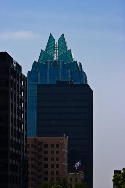 Photograph - Downtown Austin by Ed Gleichman