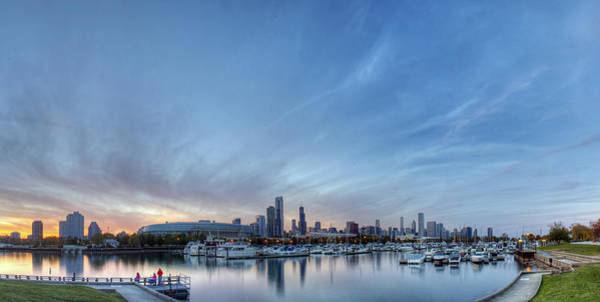Two Harbors Photograph - Downtown Chicao From Northerly Island by Twenty Two North Photography
