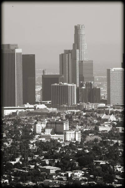 Wall Art - Photograph - Downtown Los Angeles II by Ricky Barnard