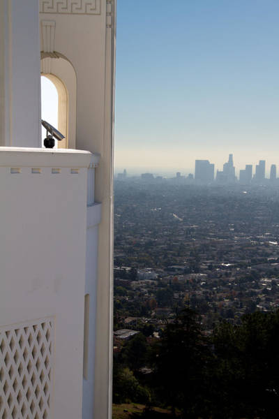 Los Angeles Skyline Photograph - Downtown Los Angeles by Jonathan Hansen