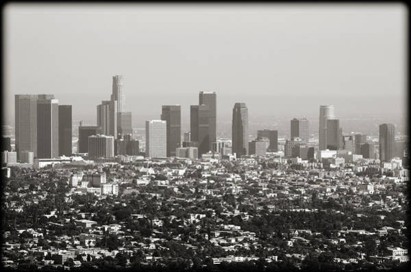 Wall Art - Photograph - Downtown Los Angeles by Ricky Barnard