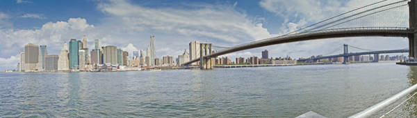 Photograph - Downtown Manhattan Panorama 2 by Val Black Russian Tourchin