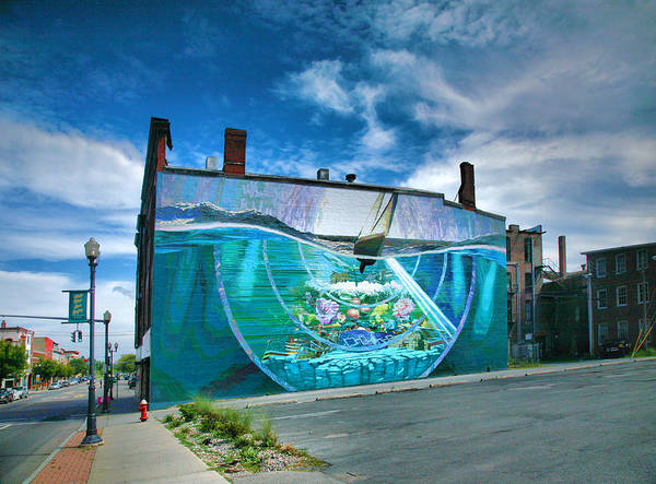 Wall Art - Photograph - Downtown Mural I by Steven Ainsworth
