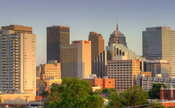 Okc Photograph - Downtown Oklahoma City by Ricky Barnard