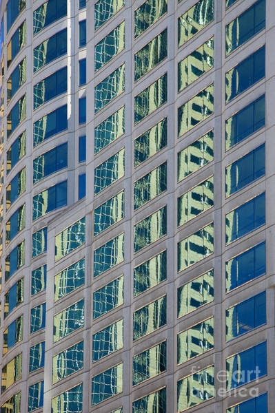 Wall Art - Photograph - Downtown Reflections by Mike  Dawson