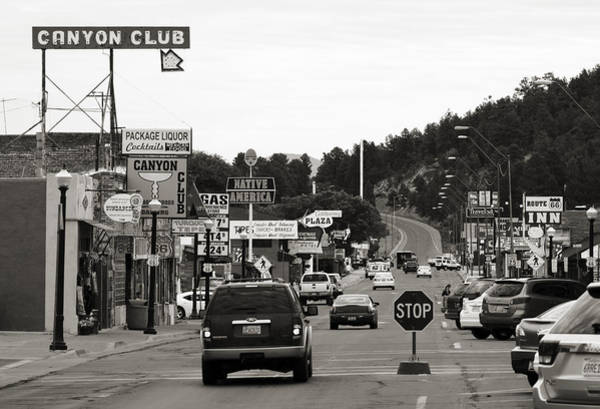 Historic Route 66 Photograph - Downtown Williams by Ricky Barnard