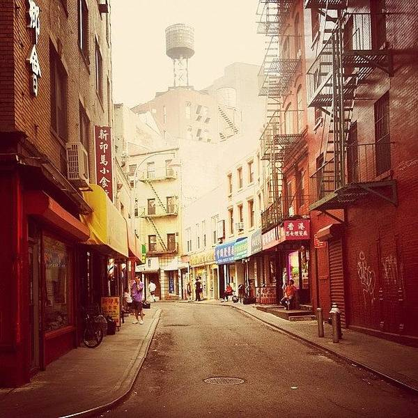 Wall Art - Photograph - Doyers Street - New York City by Vivienne Gucwa