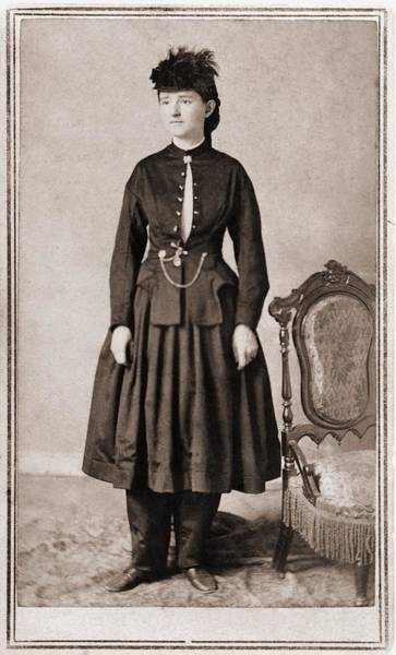 Medal Of Honor Photograph - Dr. Mary Walker 1832-1919, Was Awarded by Everett