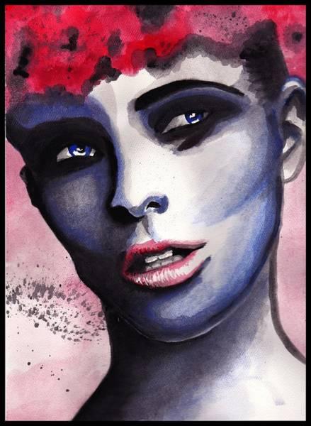 Wall Art - Painting - Drag Beauty by Alycia Ryan