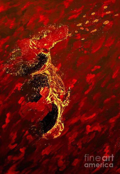 Dragon Fly Painting - Dragon by Andreas Berheide