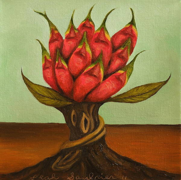 Painting - Dragon Tree 2 by Leah Saulnier The Painting Maniac