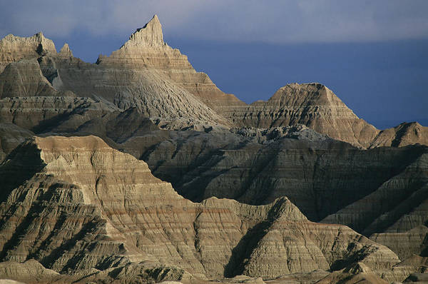 North Dakota Badlands Wall Art - Photograph - Dramatic Peaks Dominate A  Portion by Annie Griffiths