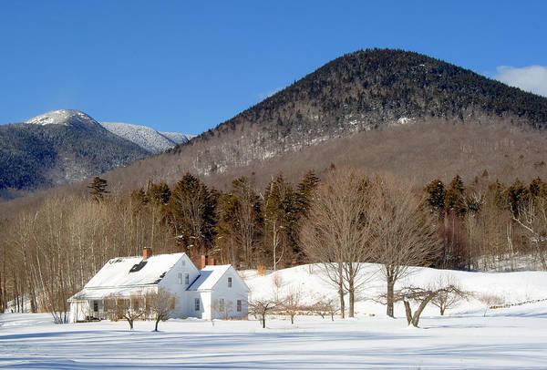 Photograph - Dream House Close Winter by Larry Landolfi