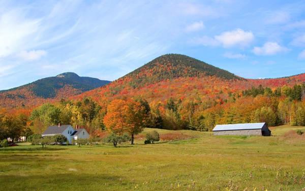 Photograph - Dream House Far Autumn by Larry Landolfi