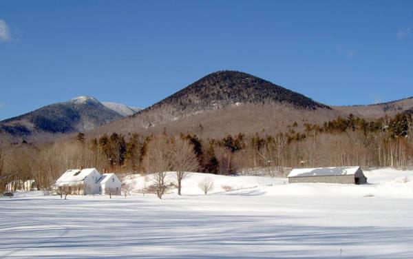 Photograph - Dream House Far Winter by Larry Landolfi